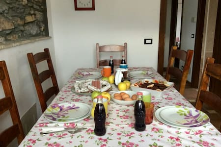 Country chic apartment, Caravonica - Lucinasco - Wohnung