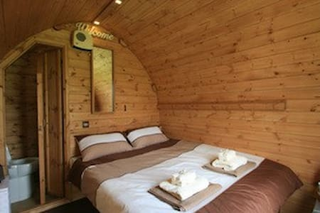 Gower Suitehuts luxury Glamping (Carwen) - Llanrhidian - Barraca