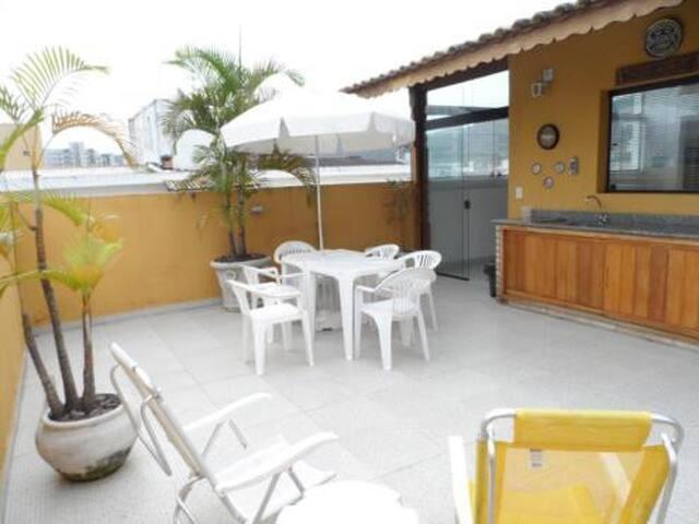 Cobertura/Enseada Guaruja/Vista Linda