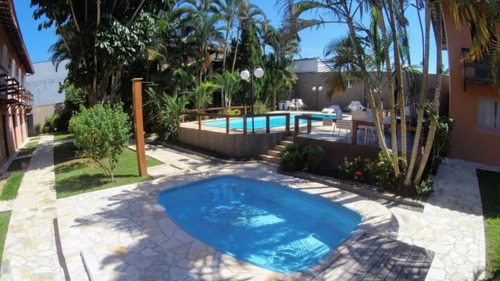 Apartamento na linda praia de Maresias