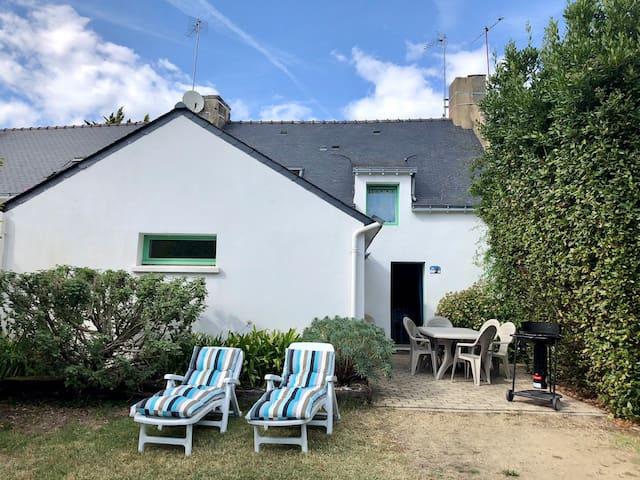 Maison de pêcheur proche de la mer