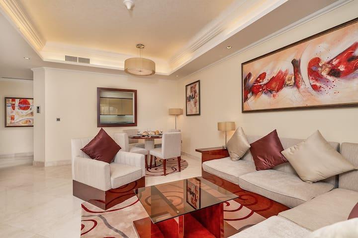 Stunning 1 Bed  Best Location  Grandeur Residences