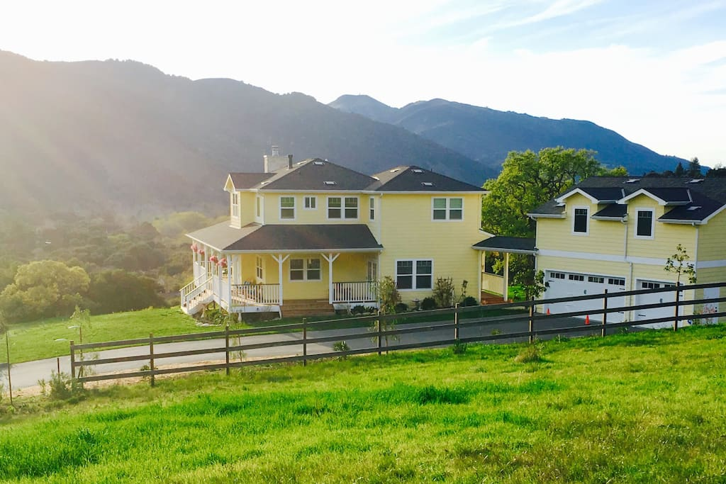 Now is a beautiful time to visit the Carmel Valley Farm House...