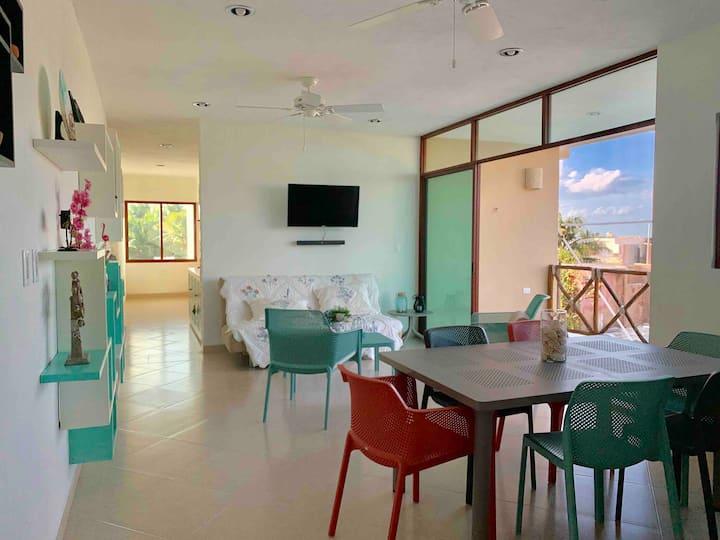 Apartamento en Playa Chicxulub! ¡Precioso!