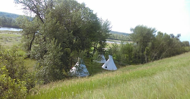 White Buffalo Camp Tipi #1