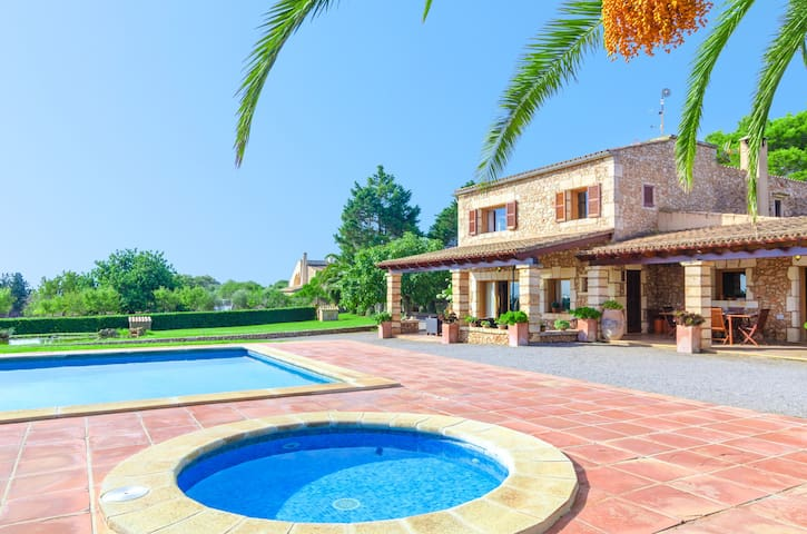 FINCA CAN BOSCO 8 - Villa with private pool in Son Carrió .
