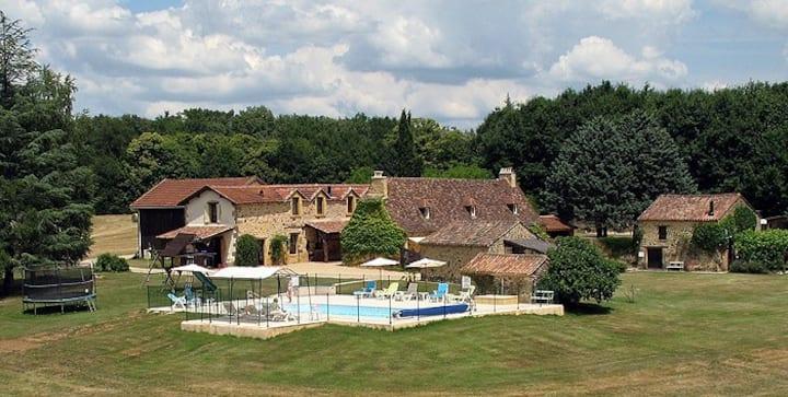 Le Figuier gîte  indépendant entre Sarlat-Bergerac