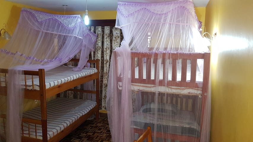 Four Person room in Mdawida Homestay, Langata Rd.