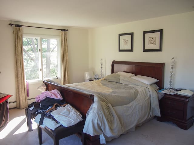 Master bedroom + Private bath in suburban home - Winchester - House