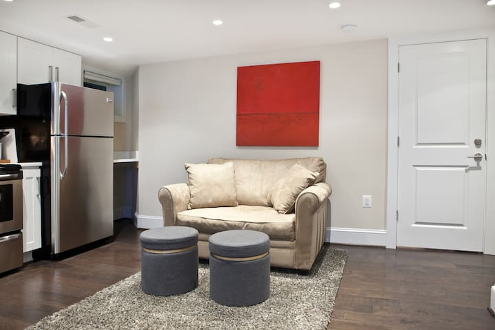 Clean, Sleek and Modern 1-Bedroom Basement Apt