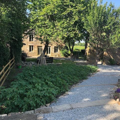 Das Bauernhaus in Gîtes De Launay