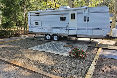 SANITIZED RV Bay Beach Boardwalk Trails- Dirt Road