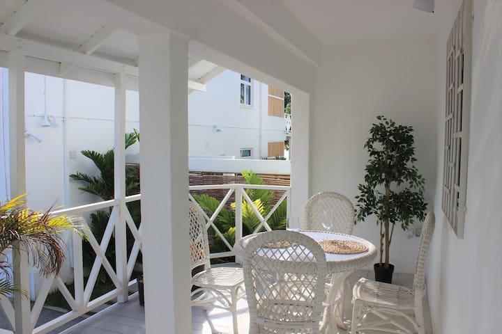 Your private veranda