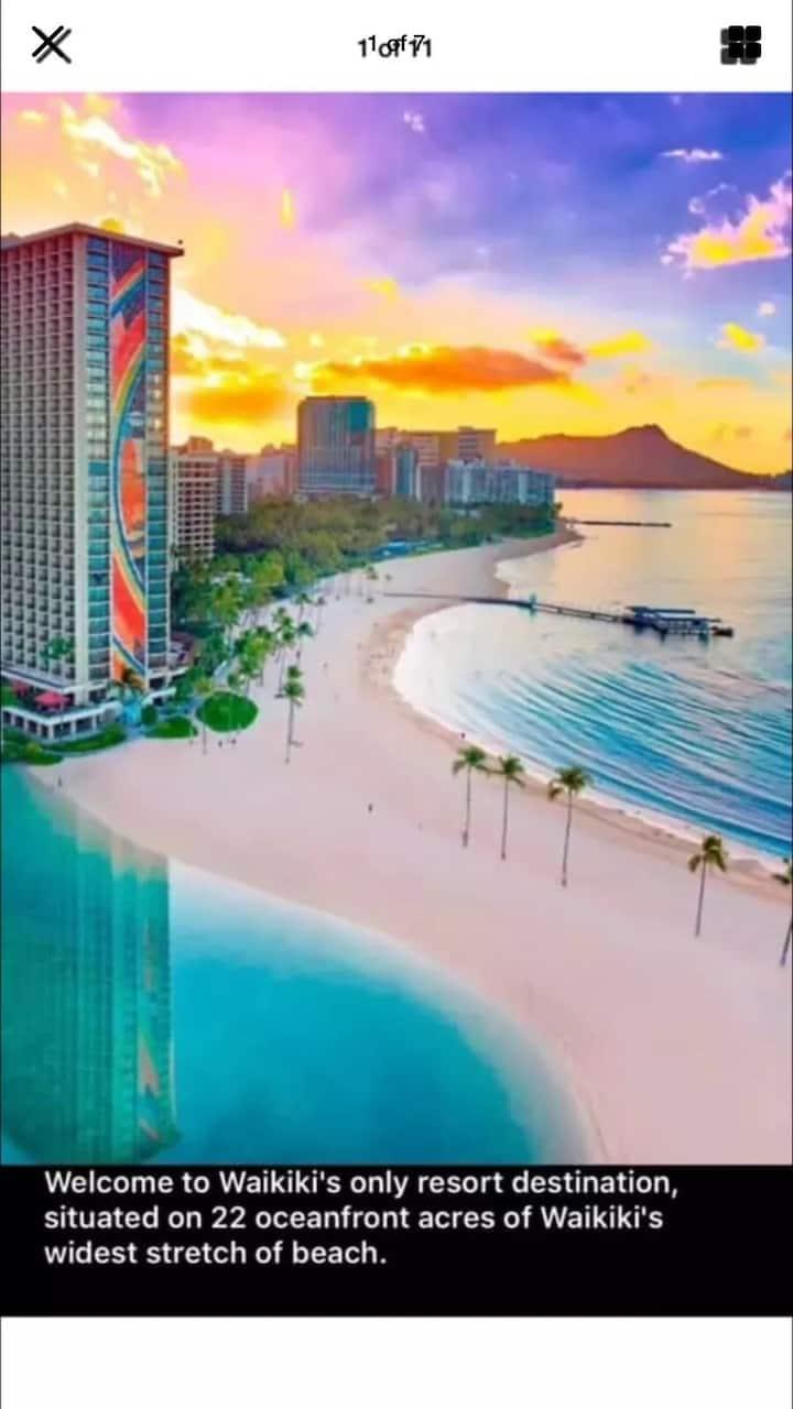 Hilton Hawaiian Village-Lagoon Tower Studio w/Balc