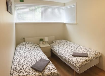 A nice, clean room near downtown Reykjavik