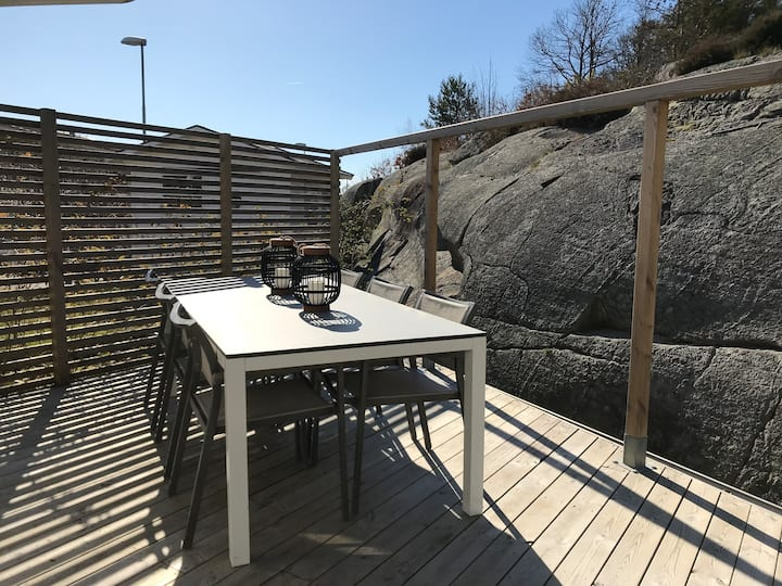 Havsnära villa i Göteborg