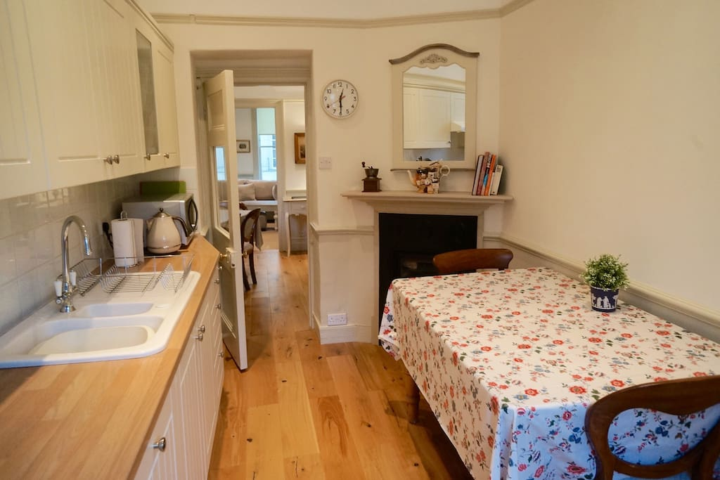 Kitchen- well equipped with all appliances including dishwasher
