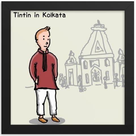 Tintin @ Kolkata