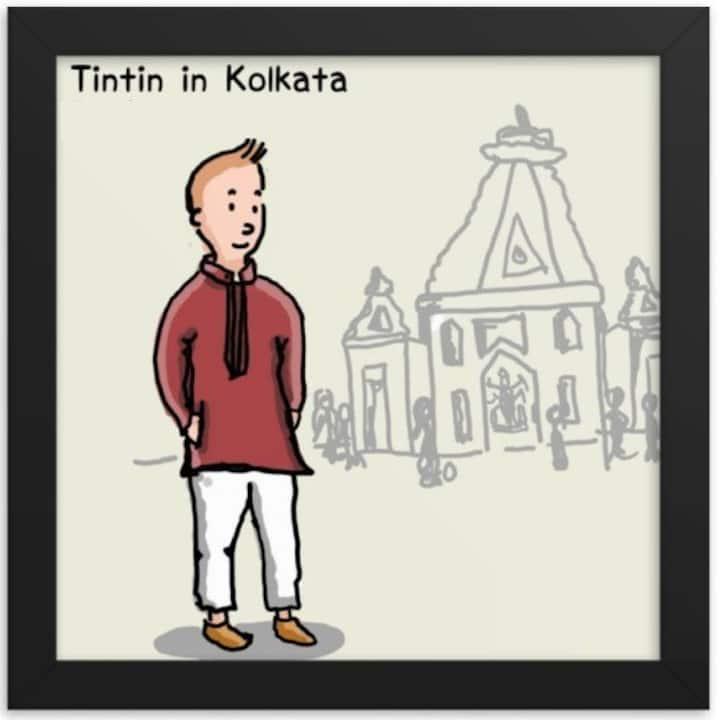 Tintin @ Kolkata now Sanitized