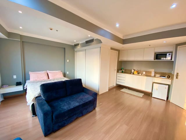 Studio flat in Guarulhos free airport shuttle