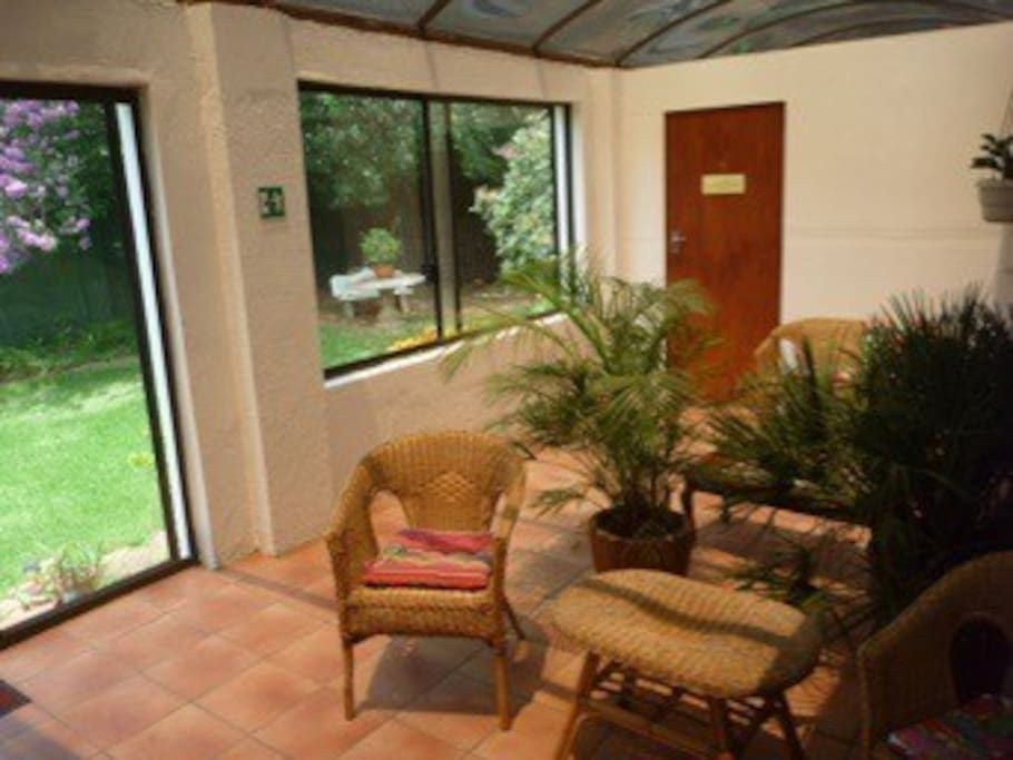 Sun Room for Rooms 2 and 3