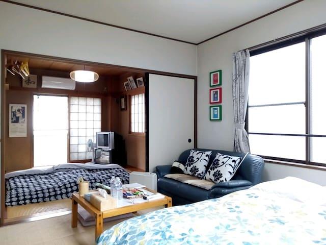 calm room-A  3min from Shinjuku by Subway