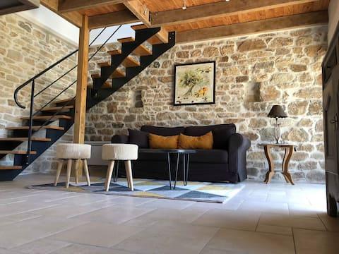Petite maison en pierre à Fouesnant