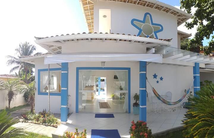 Estrela Azul Guest House sua casa na praia/ suíte2