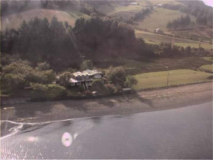 Casa Frente al Mar en Chiloé