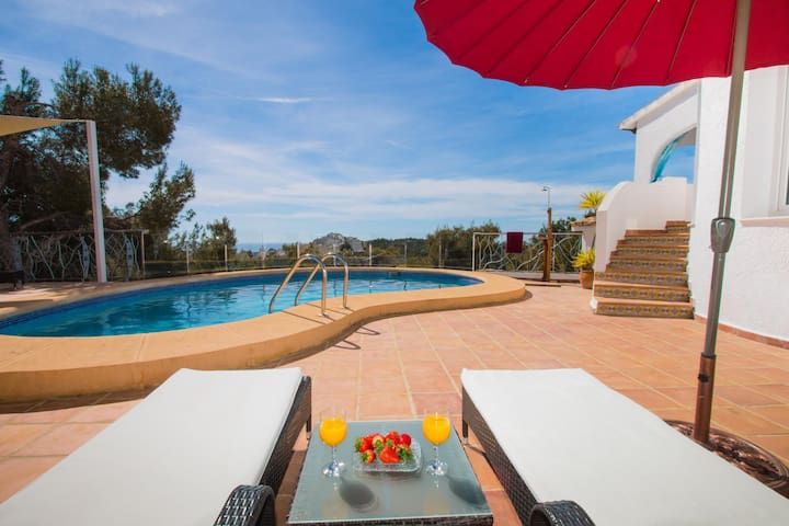 Sunny house with a swimming pool - Teulada - Casa