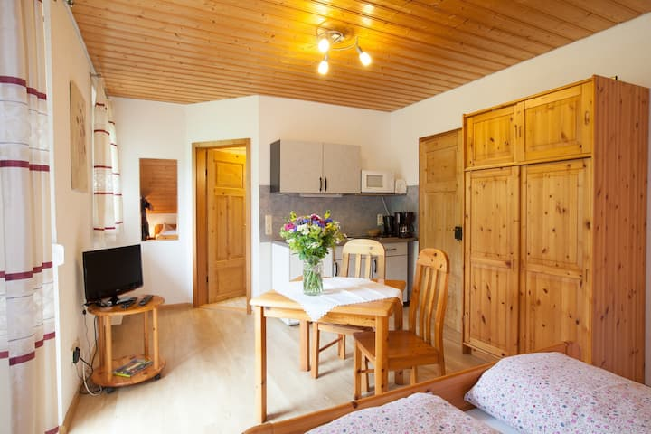 Schätzlehof, (Winden im Elztal), Ferienwohnung, Morgensonne mit 25qm, 1 Wohn-/Schlafraum, für maximal 2 Personen