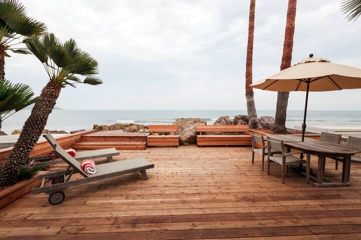 Stylish Beachfront Bungalow California Classic - Ventura - Hus