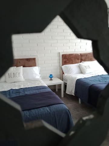 Área de dormitorio