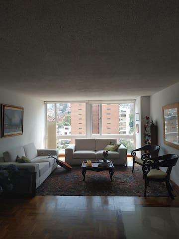 Alquilo cuarto en Bogotá por 4-meses en El Nogal