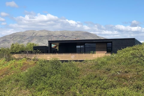 Nová luxusná vila na južnom Islande - Výhľad na hory