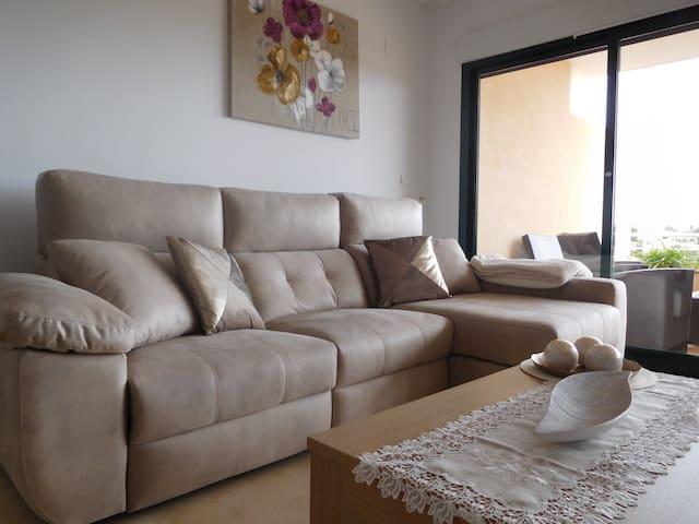 Stylish apartment,  Altea La Vella, 2 bedr, 2 bath - Altea - Lejlighed