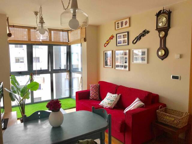 Apartamento céntrico, exterior y con wifi