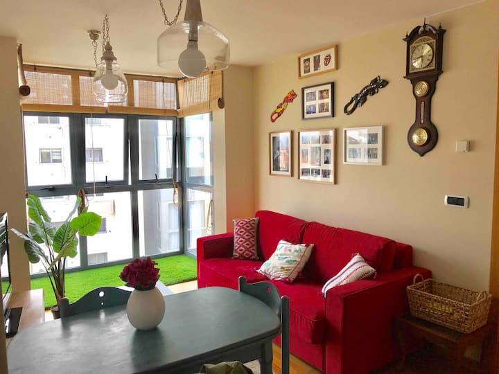 Apartamento precioso con vistas al mar y exterior