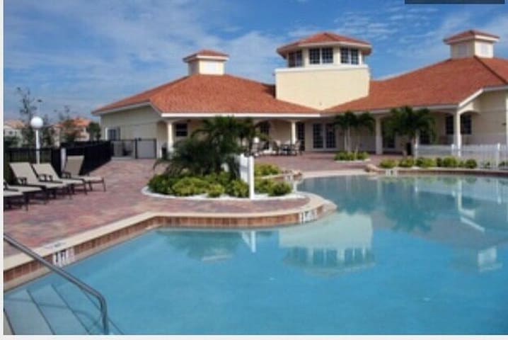Beautiful North Naples Florida in gated community