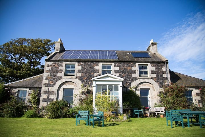 Comfy Georgian  house amazing views and private - near St Andrews - Ev