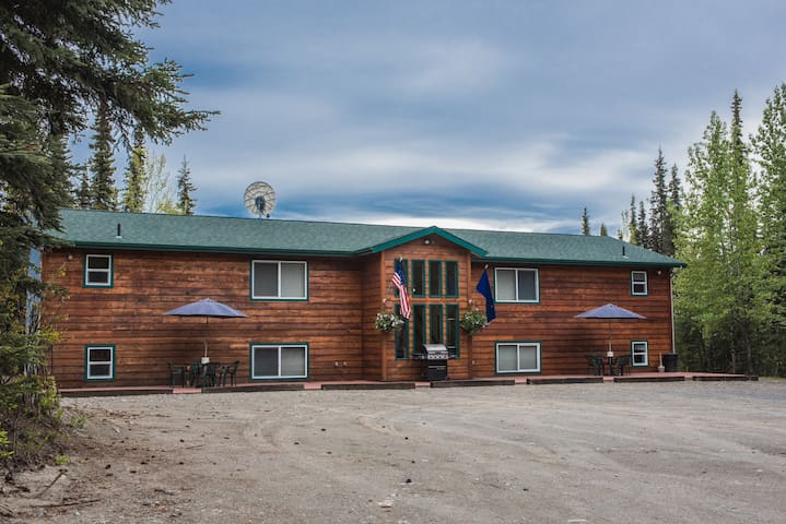 Spruce Haven Lodge, 4 guest houses under 1 roof!