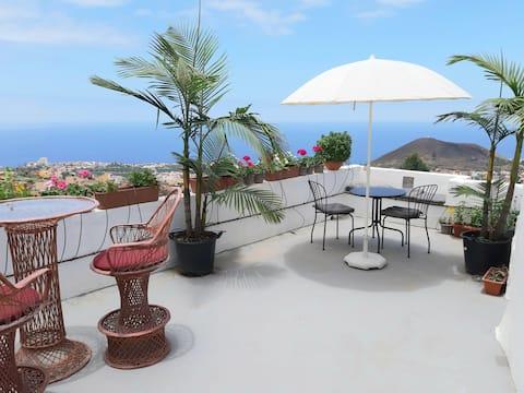 Tenerife Valley Views  Romantic Cottage wifi 300mb