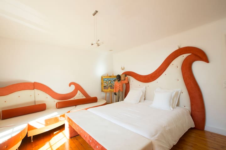 LA CHAMBRE ORANGE - Saint-Pavace - Castillo