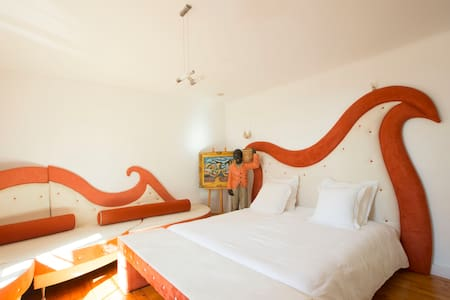 LA CHAMBRE ORANGE - Saint-Pavace
