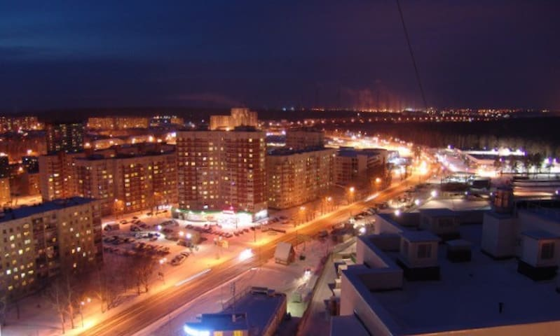 Квартира под облаками (51 метр кв) - Yekaterinburg - Apartemen