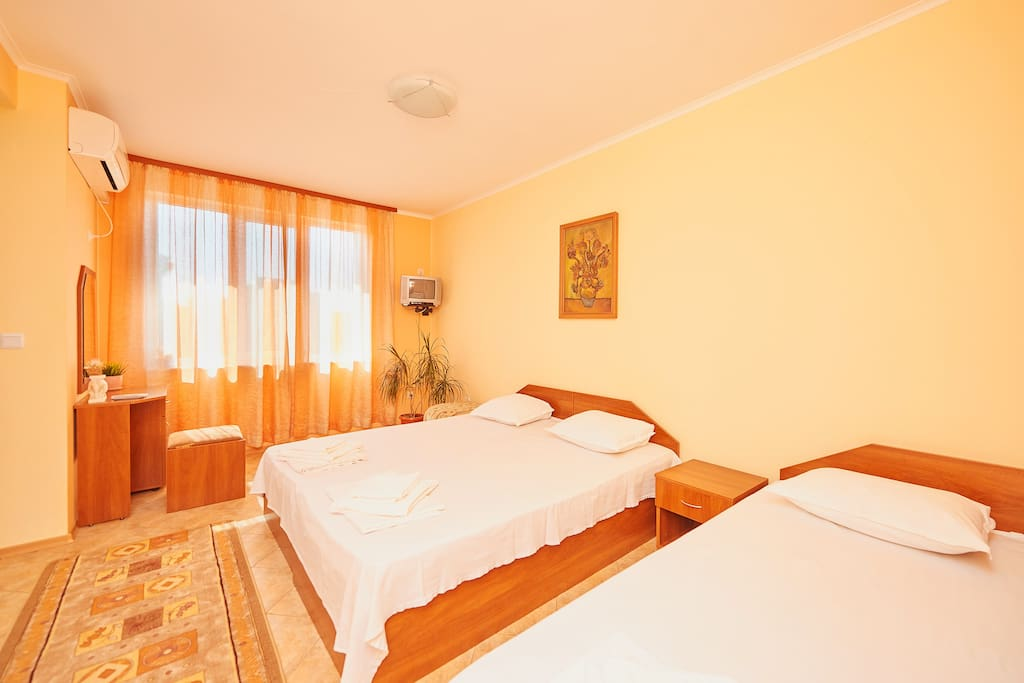 Комната №1 Спальня ракурс 1