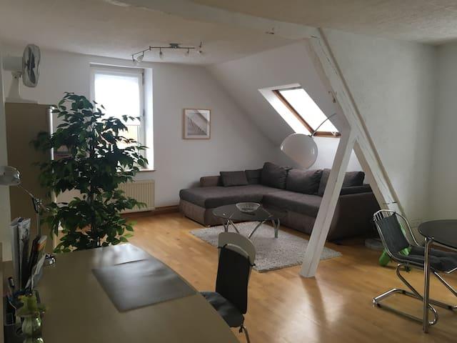 Schöne große 2-Zi-Wohnung- zentral ,Boxspringbett