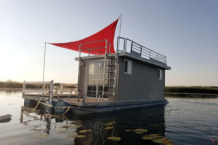 Summer Solstice Tiny Floating house