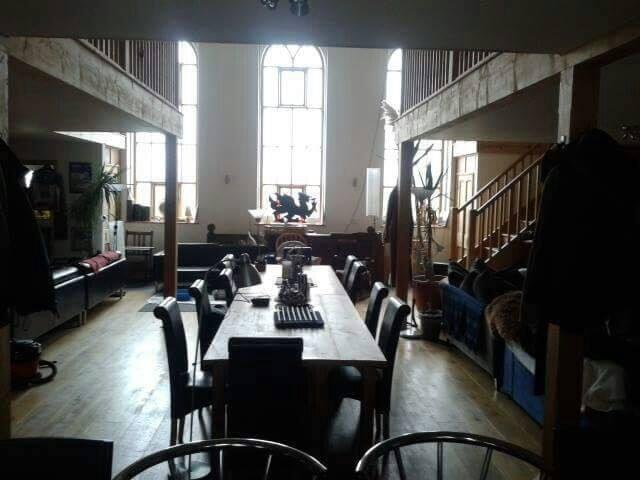 Spacious Chapel conversion,en suite room available