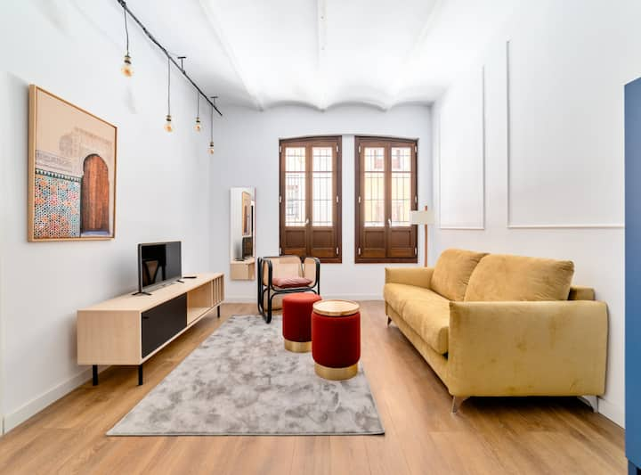 Stylish apartment in city center Catedral 1HB sotano S2